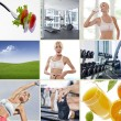Stock Photo: Wellbeing mix