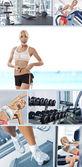 Fitness mix — Stock Photo