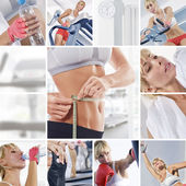 Gym mix — Stock Photo