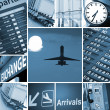 Airport mix - Stock Photo