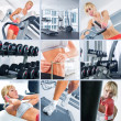 Foto Stock: In gym