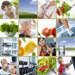 Stock Photo: Wellbeing collage