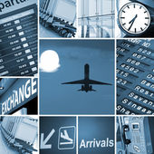 Luchthaven mix — Stockfoto