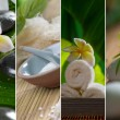 Stock Photo: Close up view of spa theme objects on natural background