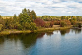 Autumn_river — Stockfoto