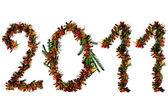 New Year_figures — Stock Photo