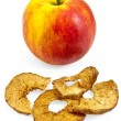 Stock Photo: Apple with chips