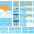 Weather Icons — Stock Vector #4855115