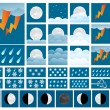 Stock Vector: Weather Icons