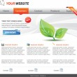 Web 2.0 template — Stockvektor