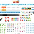Web designers toolkit - Premium collection 7 — Vettoriale Stock #4062983