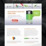 webb 2.0-mall — Stockvektor