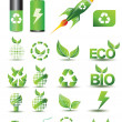 Vector de stock : Designers toolkit - eco & bio