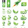 图库矢量图片: Designers toolkit - eco & bio