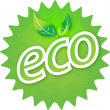 Stock Photo: eco symbol