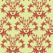 Damask wallpaper - Stock vektor