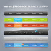 Web designers toolkit - pathmaster collection — Stock vektor
