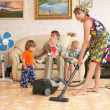 Stock Photo: Cleaning