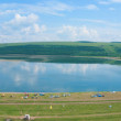 Lake Uchum panorama — Stock Photo