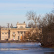 Palace on the Water during winter — Stock Photo #4380131