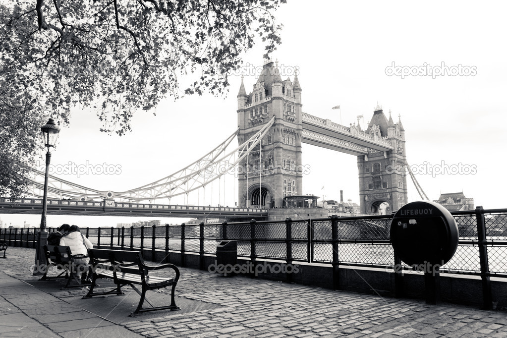 towerbridge in london stockfoto seawhisper 4509785. Black Bedroom Furniture Sets. Home Design Ideas