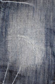 Jeans texture vertical — Stock Photo