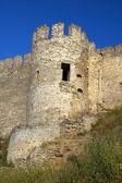 Medieval tower of citadel Belgorod — Stockfoto