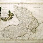 Old map of Moldavia and Vallachia 1700 — Stock Photo #4441960