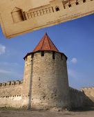 Medieval tower of citadel — Stock Photo