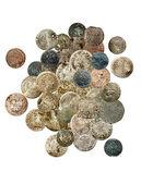 Litvanya Polonya Ortaçağ Avrupa paraları — Stok fotoğraf