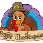 Happy Thanksgiving theme 1 — Stock Vector
