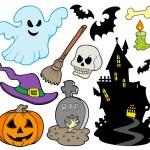 Set of Halloween images — Stock Vector #3947035