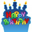 Royalty-Free Stock Immagine Vettoriale: Happy birthday theme 3
