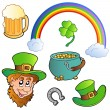 St Patricks day collection 3 — Imagen vectorial