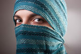 European Muslim Woman — Stock Photo