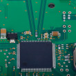 Stock Photo: Detail of the circuit board