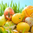 Colorful Easter eggs — Stock Photo #5128300