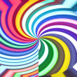 Royalty-Free Stock Photo: Abstract color rainbow rotation background.
