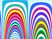 Abstract color rainbow background — Stock Photo