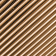 Golden modern metallic grid industrial surface - Stock Photo