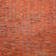 Big red brick wall, background texture, material — Stock Photo #4275981