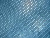 Blue metallic industrial grid, texture closeup, — Stock Photo