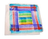 Color serviette isolated, tissue diversity — Stock Photo