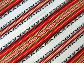 Abstract nationl ukrainian zigzag texture — Stock Photo