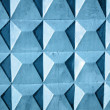 Royalty-Free Stock Photo: Abstract blue wall, square texture background