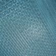 Abstract blue metal surface, background texture closeup. — Stock fotografie