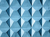 Abstract blue wall, square texture background — Stock Photo