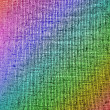 Abstract chaotic rainbow grid background texture. — Stock Photo