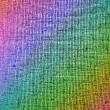 Abstract chaotic rainbow grid background texture. — Stock Photo #5179605