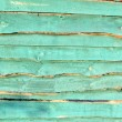 Abstract green wooden wall,background texture. — Stock Photo